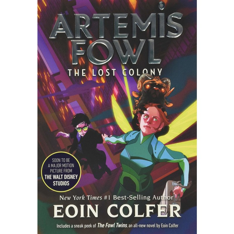 Disney-Hyperion Artemis Fowl Book 5 The Lost Colony