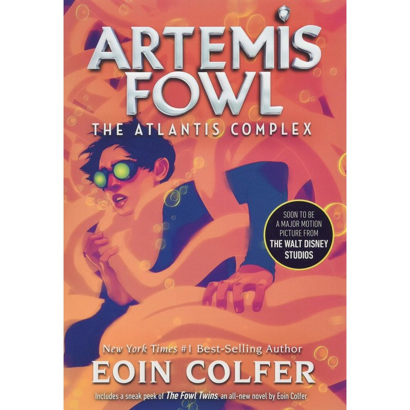 Disney-Hyperion Artemis Fowl Book 7 The Atlantis Complex