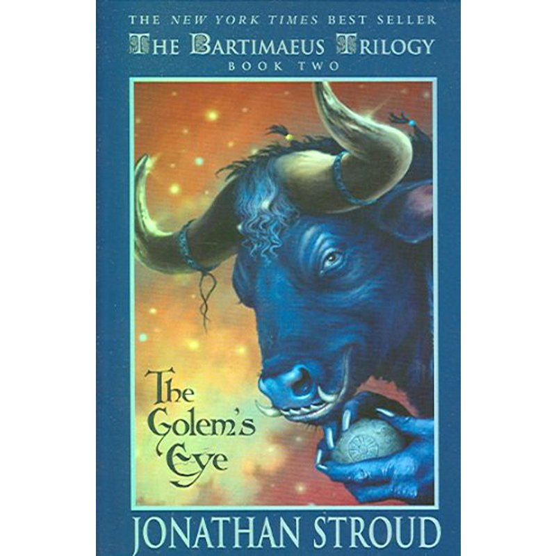 Disney-Hyperion Bartimaeus Book 2 The Golem's Eye
