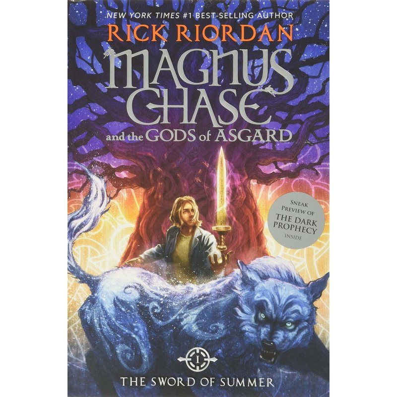 Disney-Hyperion Magnus Chase Book 1 Gods of Asgard Sword of Summer