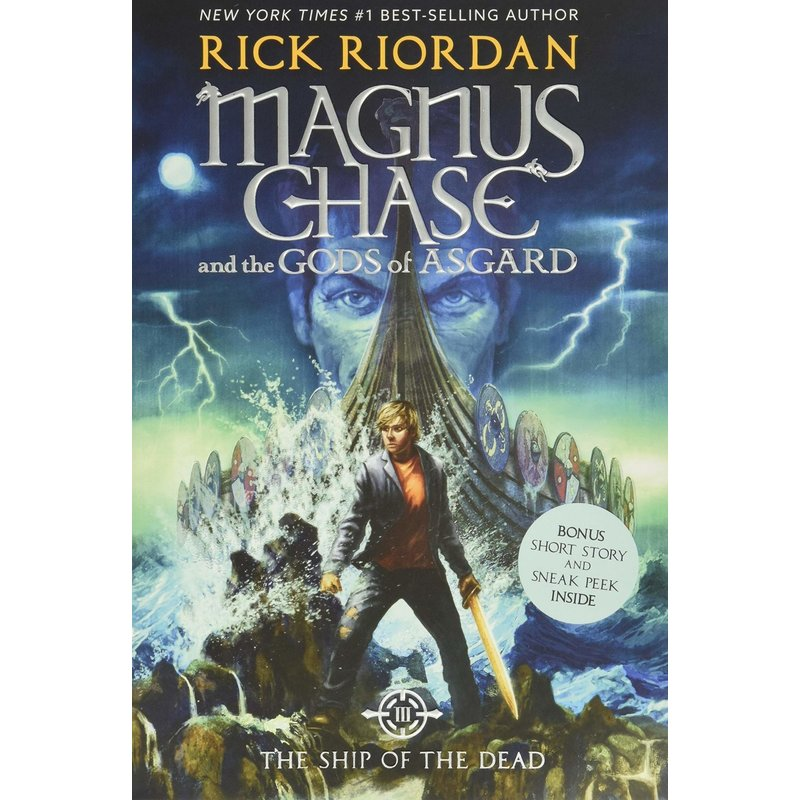 Disney-Hyperion Magnus Chase Book 3 Ship of the Dead
