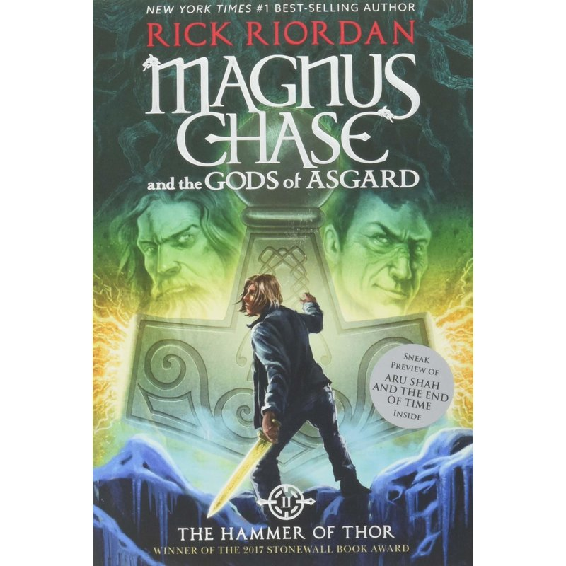 Disney-Hyperion Magnus Chase Book 2 The Hammer of Thor