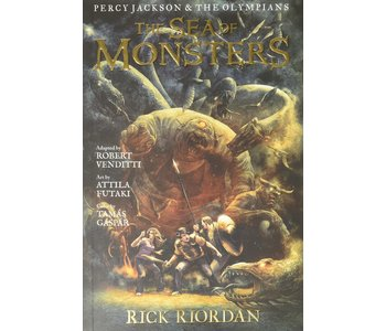 Percy Jackson Graphic Novel  Book 2 Sea of Monsters