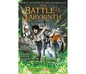 Percy Jackson Graphic Novel  Book 4 Battle of Labyrinth