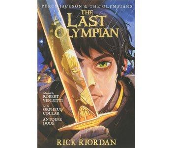 Percy Jackson Graphic Novel  Book 5 Last Olympian