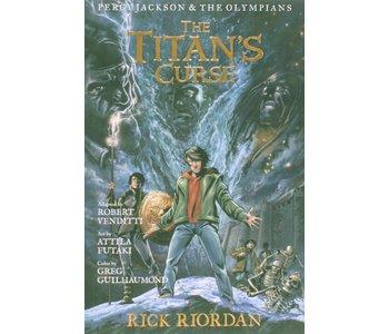 Percy Jackson Graphic Novel  Book  3 Titans Curse