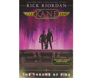 The Kane Chronicles Book 2 Throne of Fire