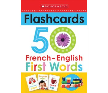 Early Learner Flash Cards French-English 50 Words