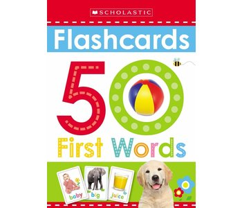 Early Learner Flash Cards: 50 First Words