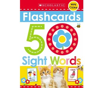 Early Learner Flash Cards: 50 Sight Words