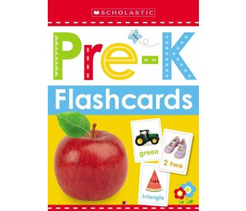 Early Learner Get Ready Flash Cards Pre-K