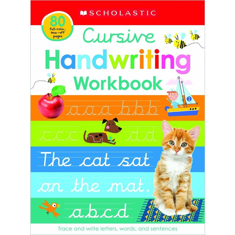 Scholastic Early Learners Cursive Practice Learning Pad