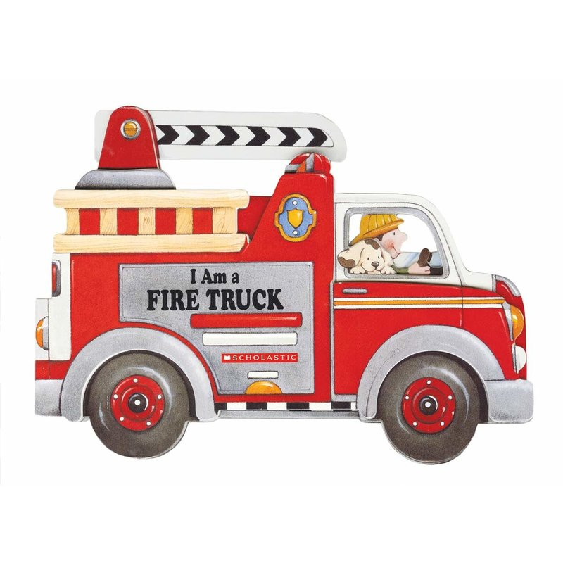 Scholastic I am a Firetruck Board Book