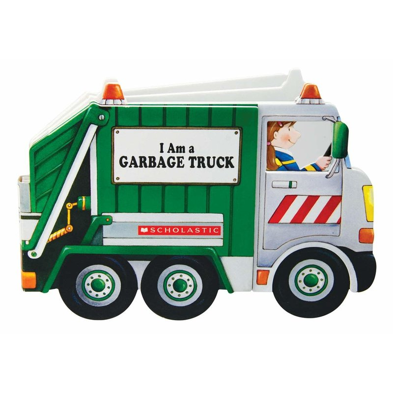 Scholastic I am a Garbage Truck Board Book