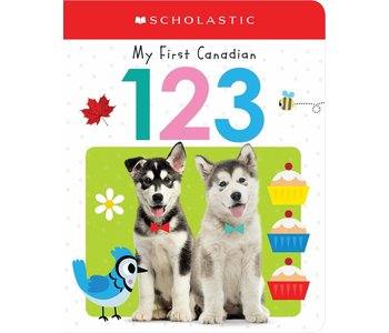 My First Canadian 123 Board Book