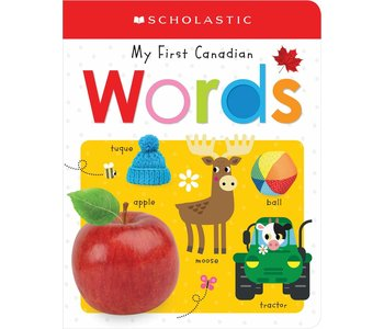 My First Canadian Words Board Book