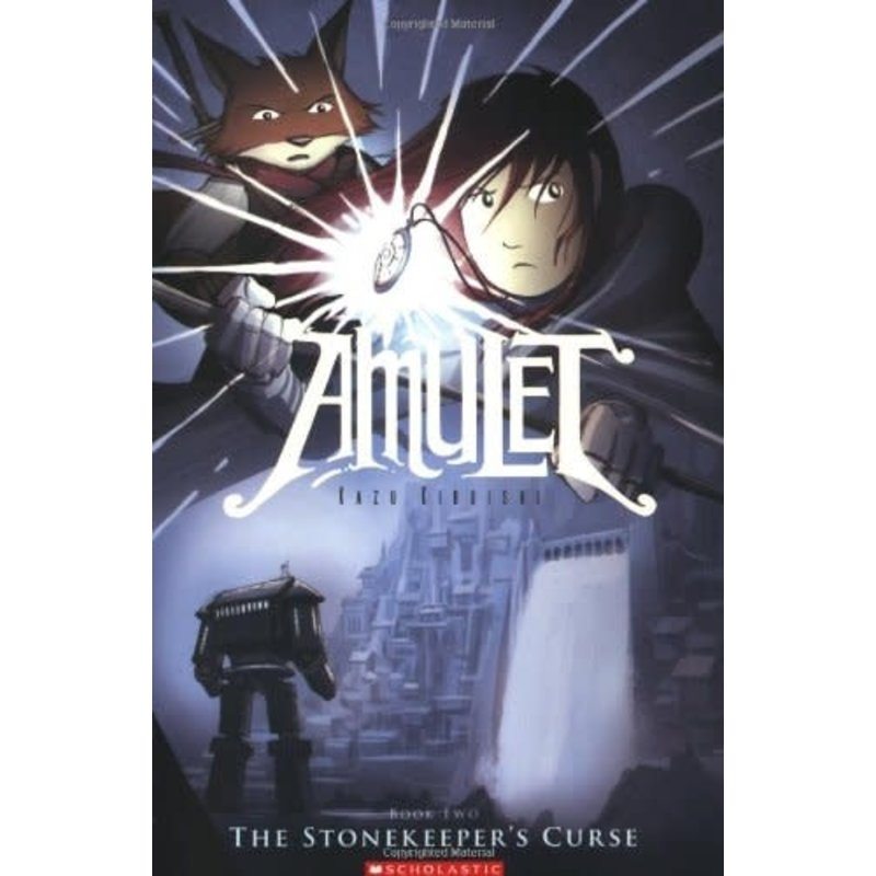 Scholastic Amulet Book 2 The Stonekeeper's Curse