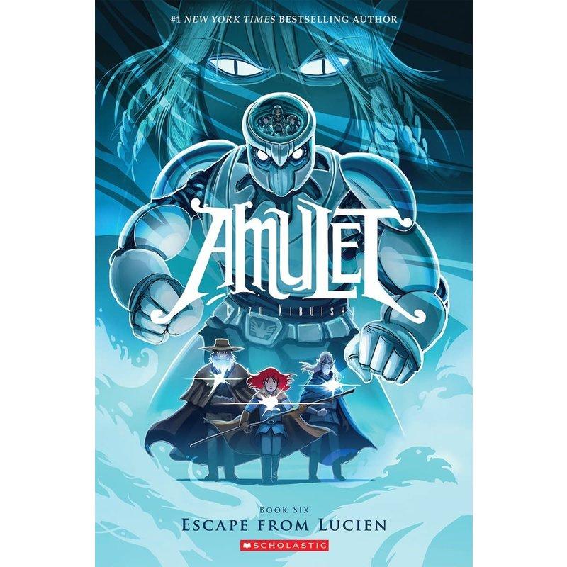 Scholastic Amulet Book 6 Escape From Lucien
