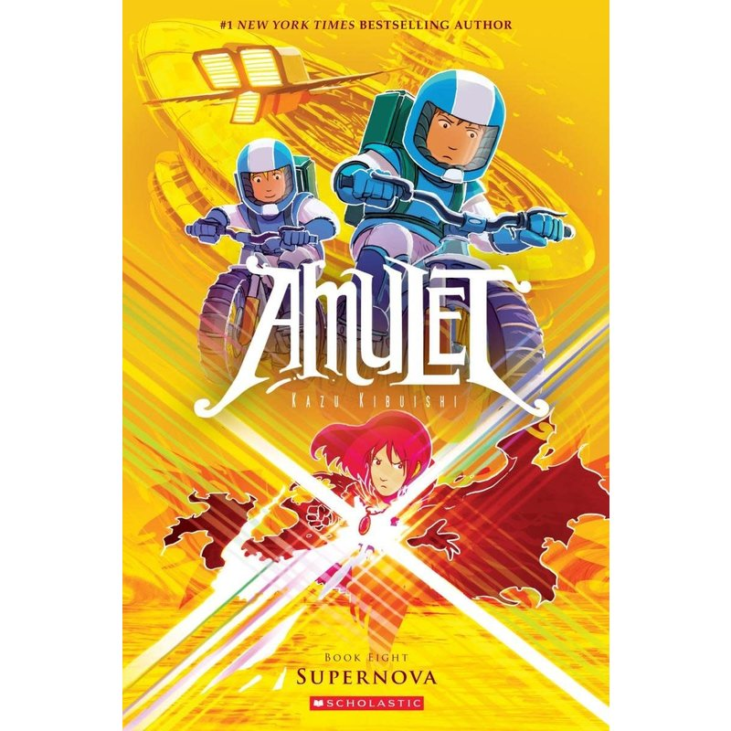 Scholastic Amulet Book 8 Supernova