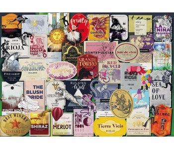 Ravensburger Puzzle 1000pc Wine Labels