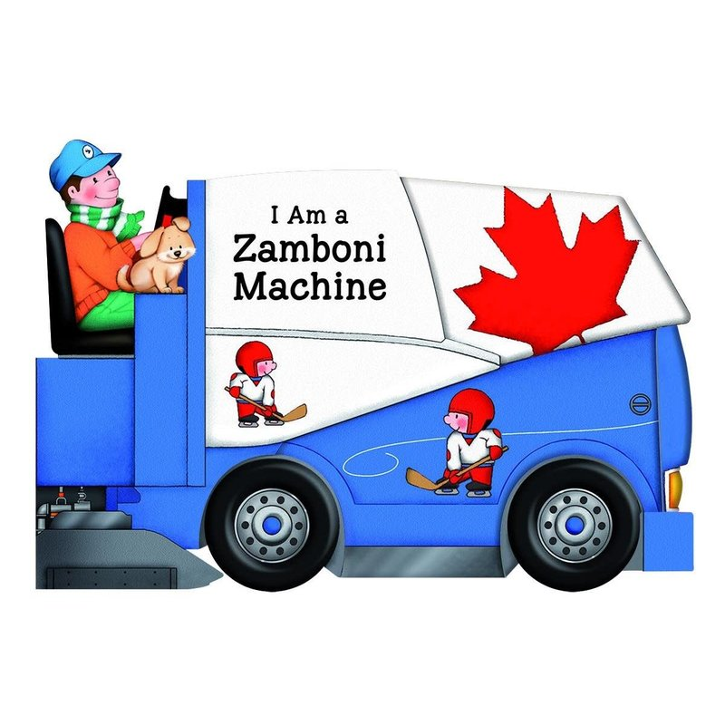 Scholastic I am a Zamboni Machine Board Book