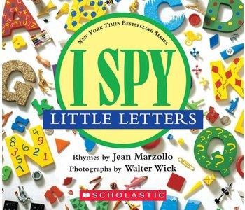 I Spy Little Letters Board Book