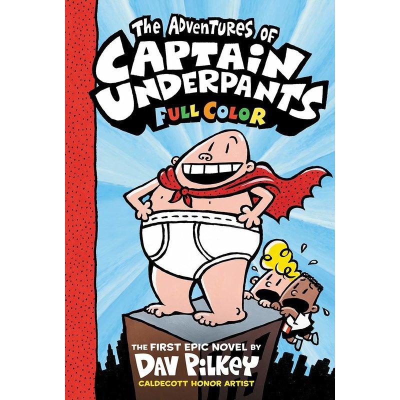 Scholastic Captain Underpants Colour Book 1