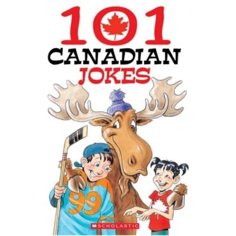Scholastic 101 Canadian Jokes Book