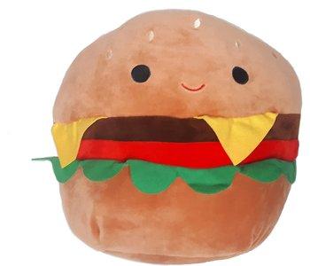 "Squishmallow 5"" Carl the Cheeseburger"