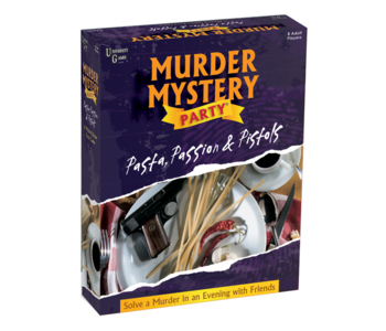 Murder Mystery Game Pasta, Passion and Pistols