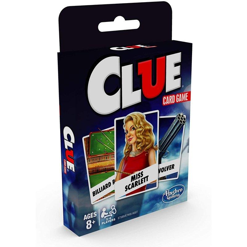 Hasbro Classic Card Game: Clue