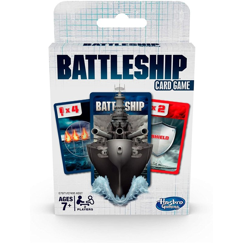 Hasbro Classic Card Game: Battleship