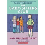 Graphic Novel The Baby-Sitters Club #3 Mary-Anne Saves the Day