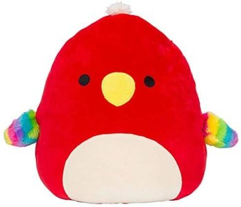 """Squishmallow 8"""" Paco the Parrot"""