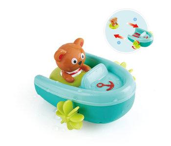 Hape Bath Tubing Pull-Back Boat