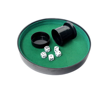 Dice Tray with Cup