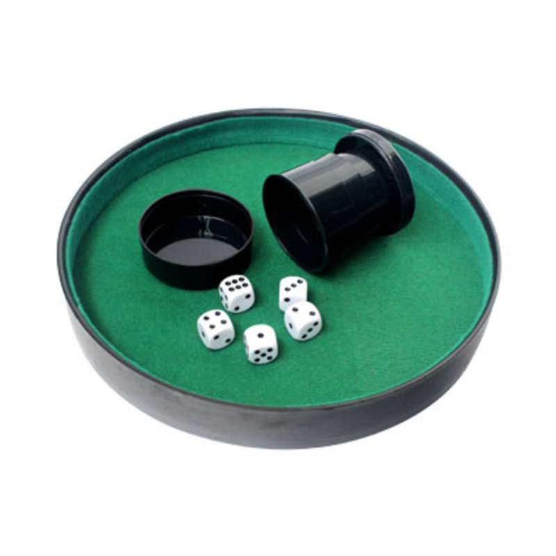 Mind Matters Dice Tray with Cup