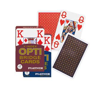 Large Index Bridge Playing Cards