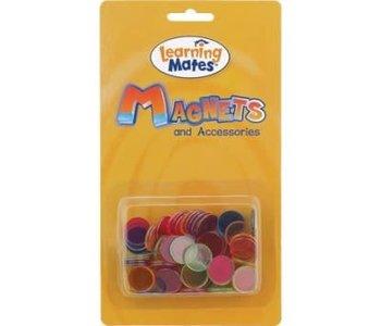 Magnetic Steel Rimmed Bingo Chips