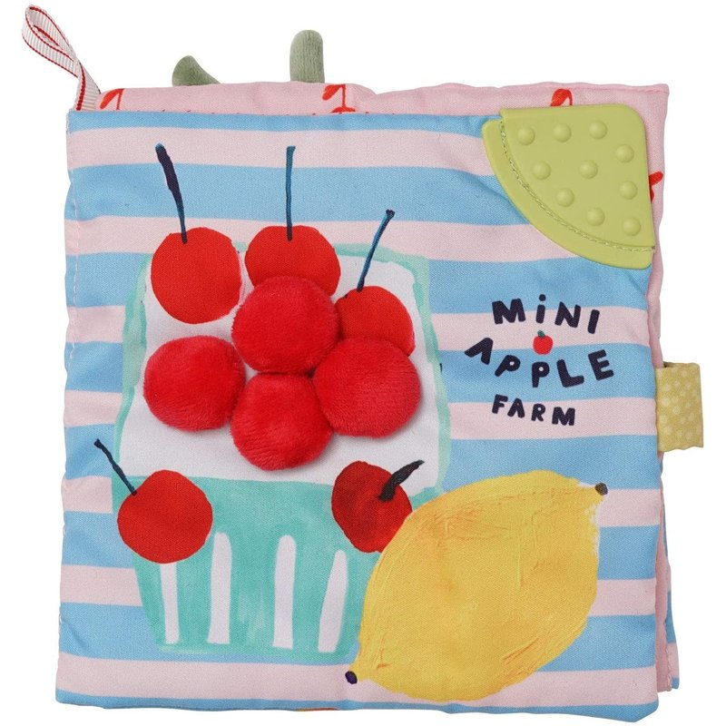 Manhattan Toy Mini Apple Farm Soft Book