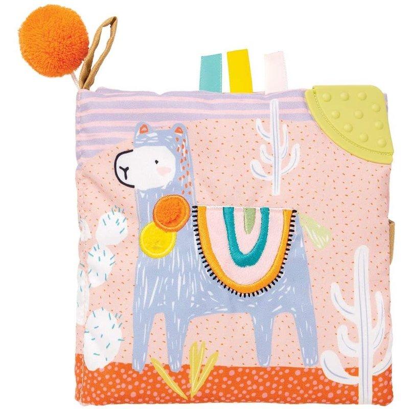 Manhattan Toy Llama Soft Book