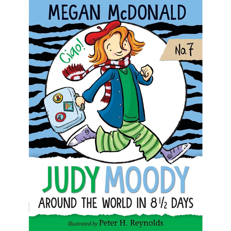 Candlewick Press Judy Moody Book 7 Around the World in 8 & 1/2 Days
