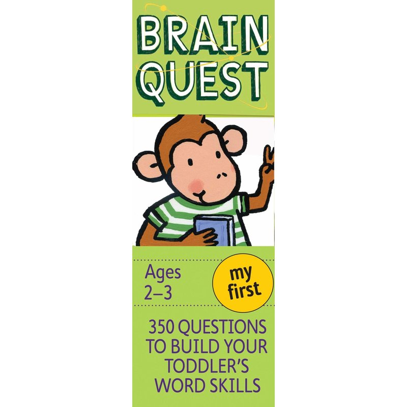 Workman Publishing Brain Quest My First Ages 2-3