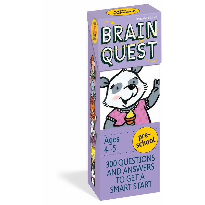 Workman Publishing Brain Quest Preschool Ages 4-5