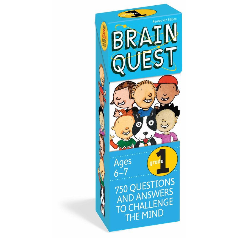 Workman Publishing Brain Quest Grade 1