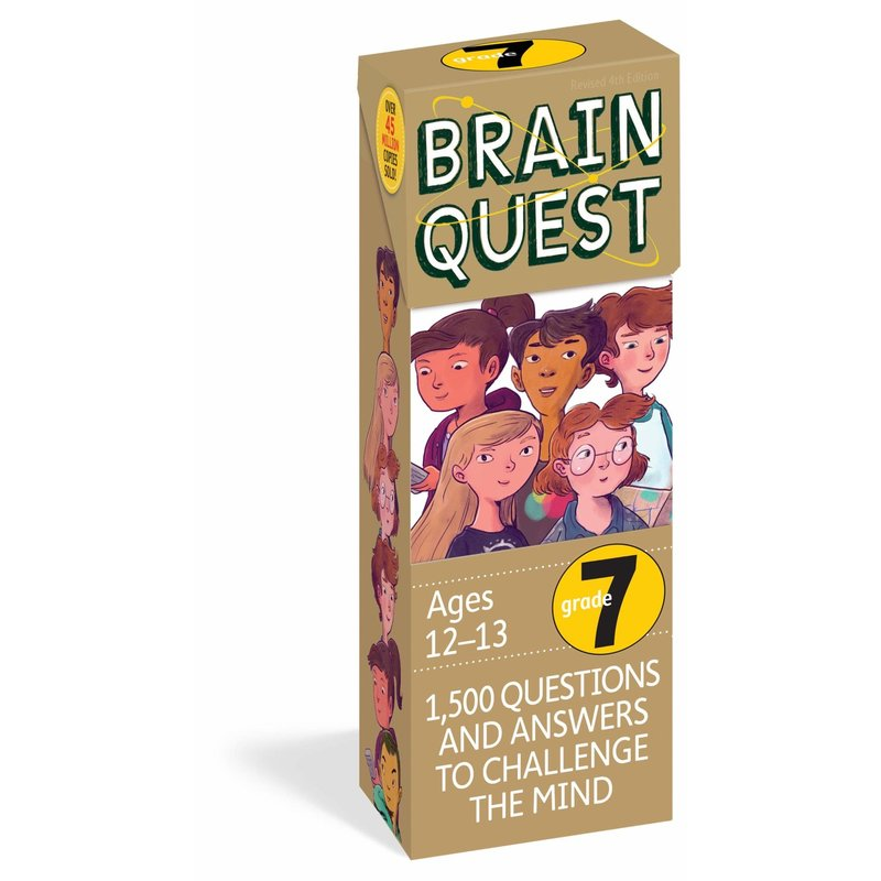 Workman Publishing Brain Quest Grade 7