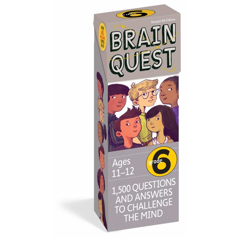 Workman Publishing Brain Quest Grade 6