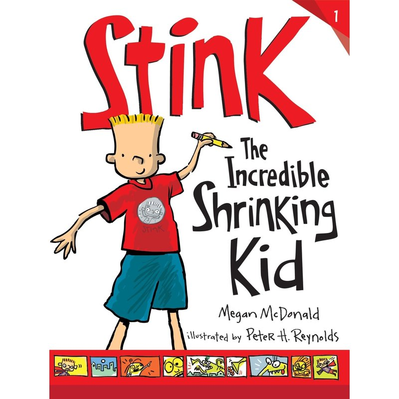 Candlewick Press Stink Book 1 The Incredible Shrinking Kid