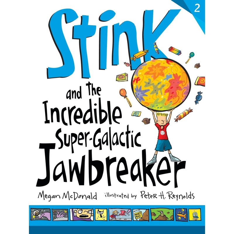 Candlewick Press Stink Book 2 and the Incredible Super Galactic Jawbreaker
