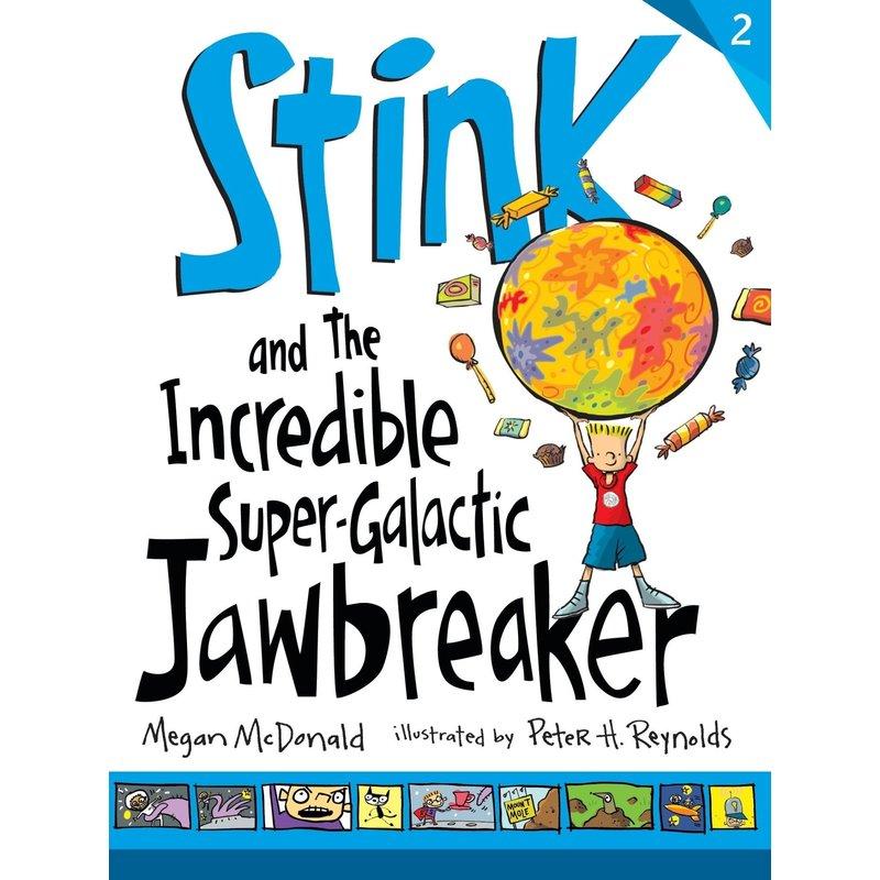Candlewick Press Stink Book 2 and the Incredible Super Galactic Jawbreaker